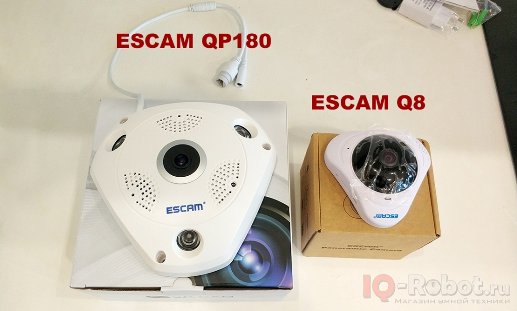 ESCAM fisheye 360